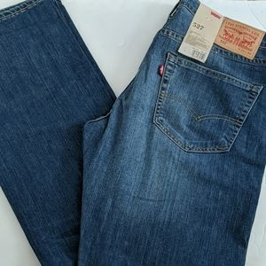Levi's 527 slim bootcut jeans size 33× 34 new